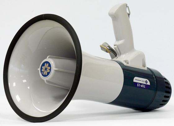Ручной мегафон ТОР-15